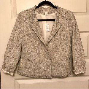 NWT LOFT tweed blazer